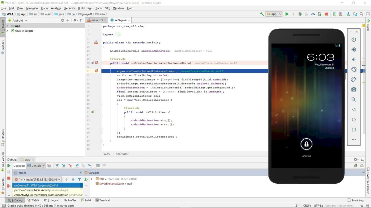 Android Studio for beginners, Part 4: Debugging tools and