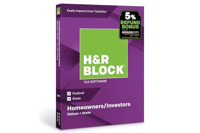 Do Your Taxes For Cheap H R Block Tax Software Deluxe Is On Sale