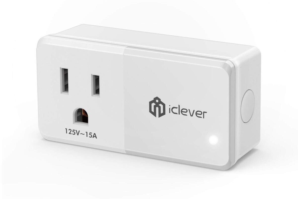 photo image iClever Smart Plug Wi-Fi Mini Outlet: Smart plug pricing nears rock bottom