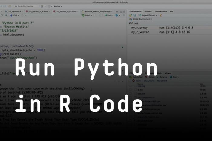 Run Python in R code | InfoWorld