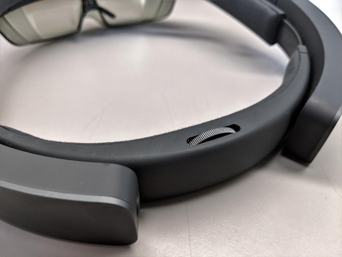 Microsoft HoloLens wheel