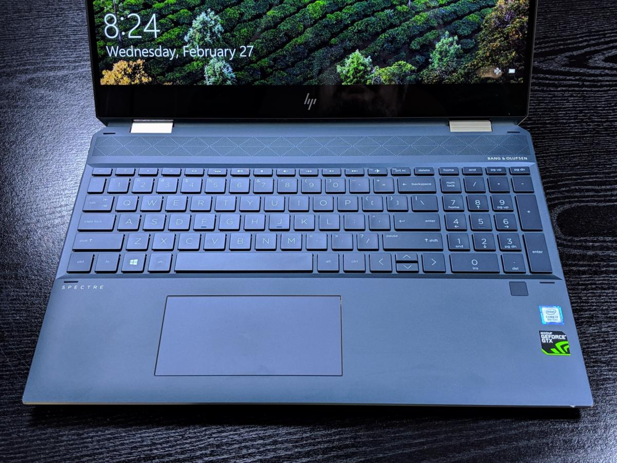 HP Spectre x360 15 (late 2018)