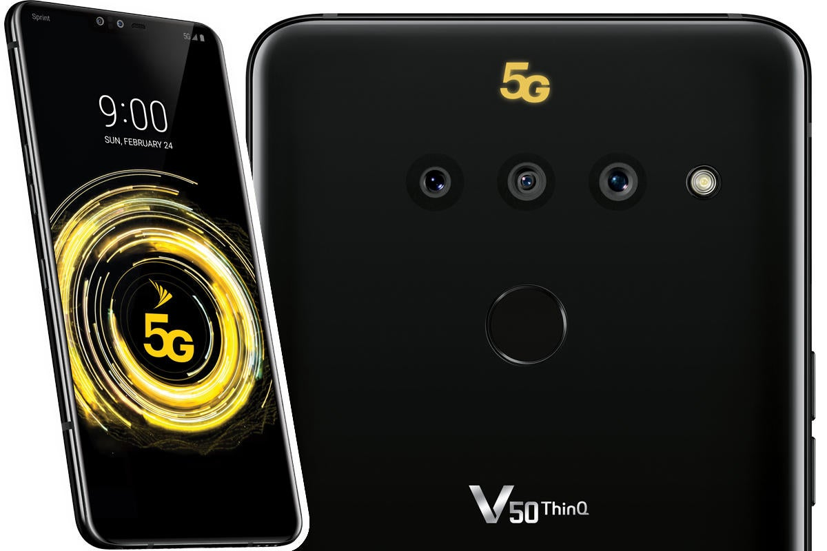 The LG V50 ThinQ is basically everything that's wrong with