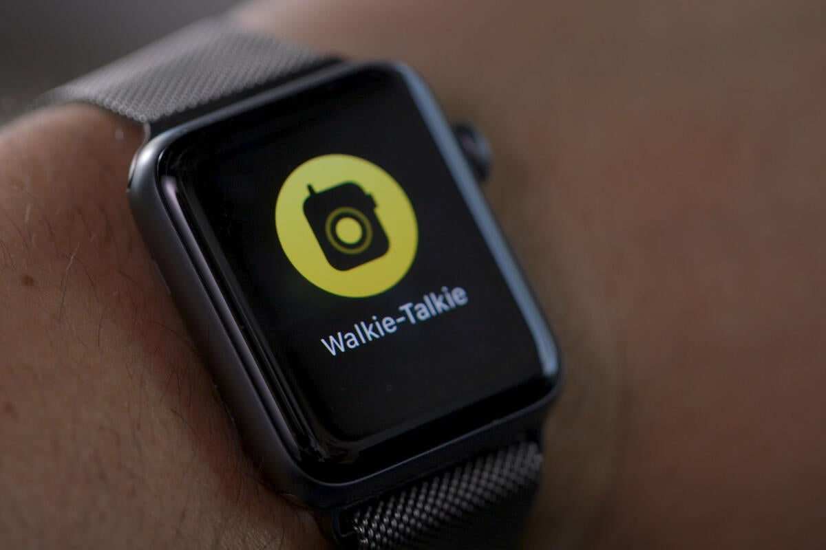 Apple temporarily disables Walkie Talkie on Apple Watch over