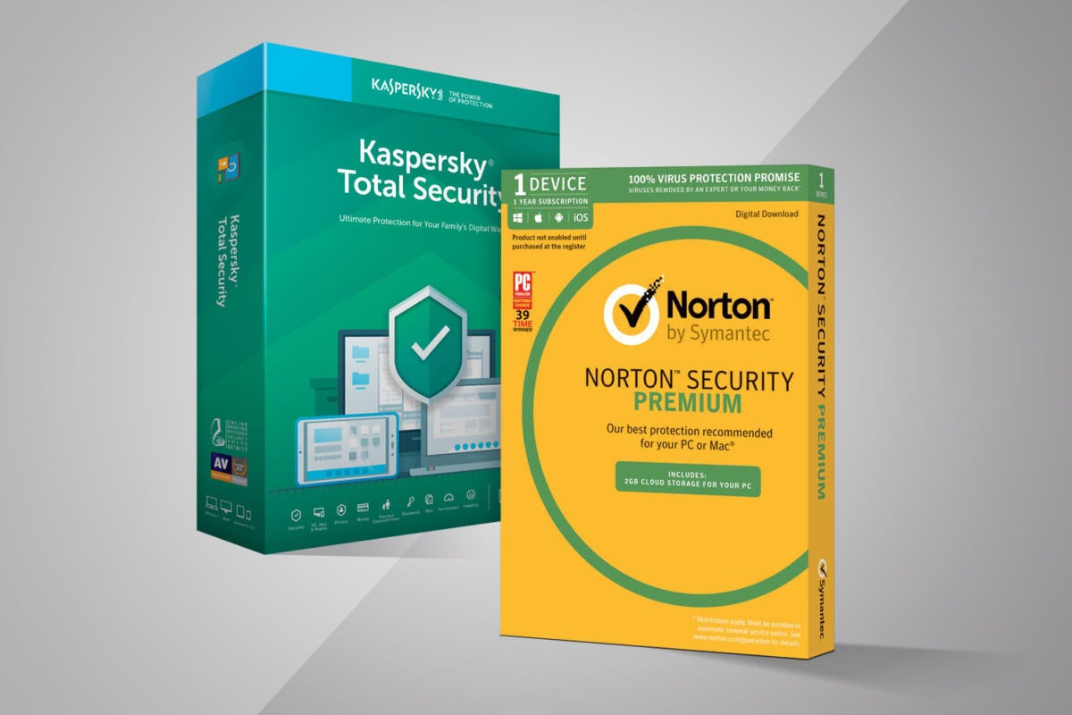 Kaspersky vs  Norton 2019: Premium AV suites face off | PCWorld