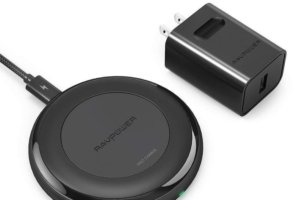 ravpower alpha series fast charge wireless pad