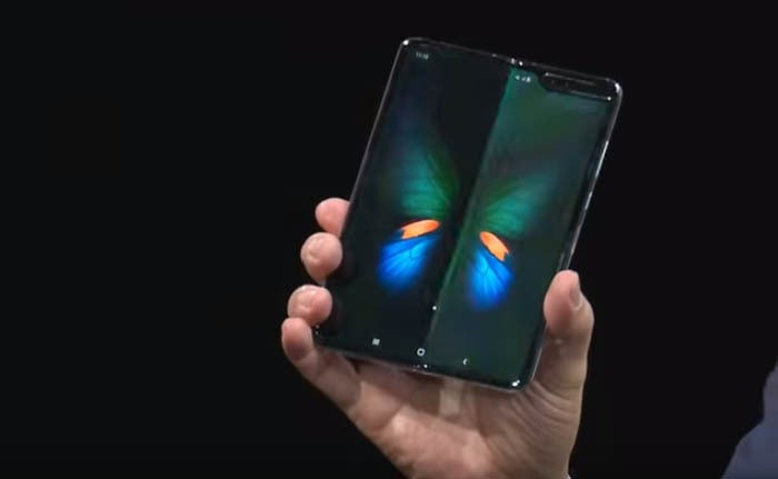 Samsung Galaxy Fold Open