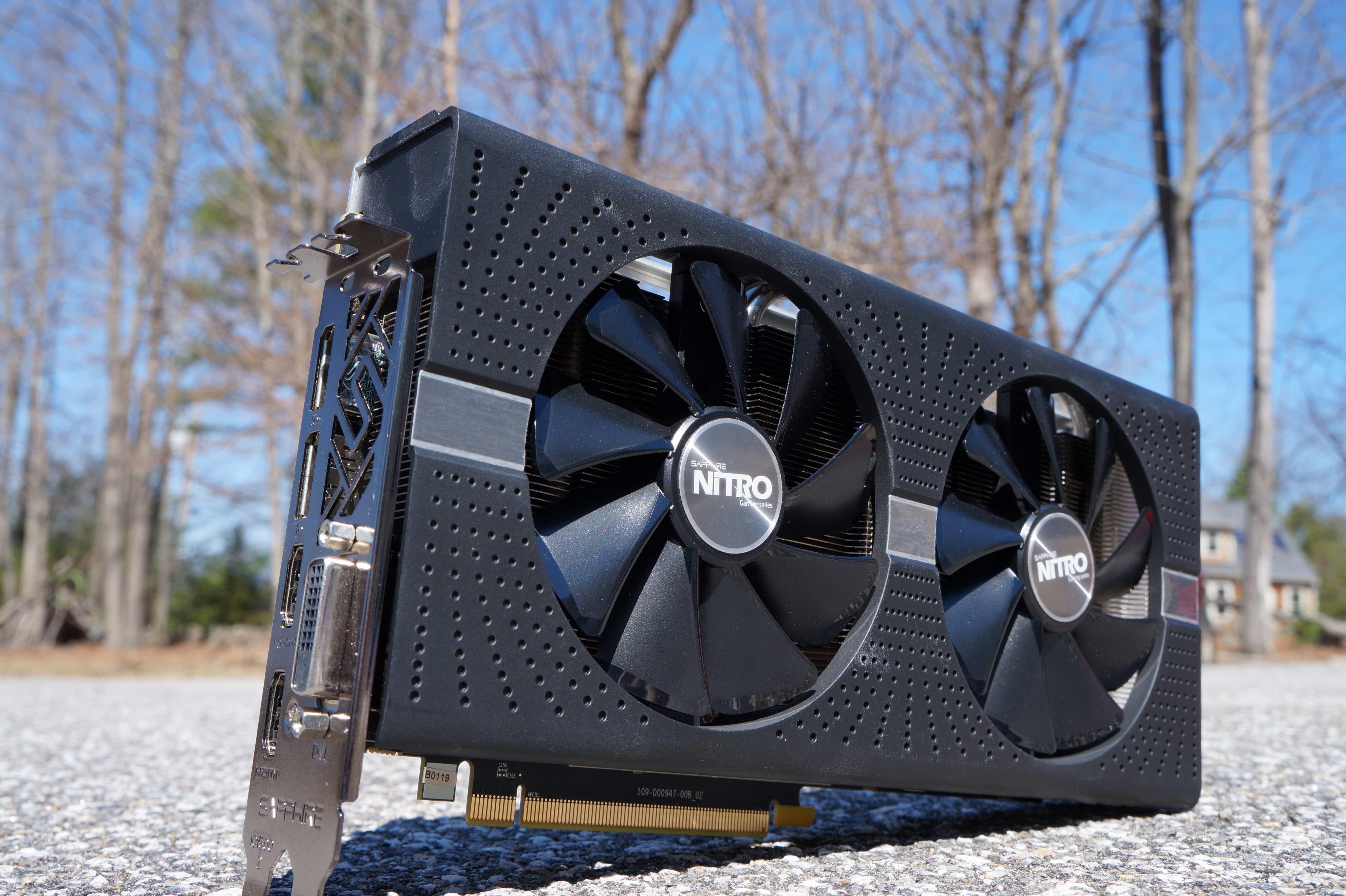 Radeon RX 580 Nitro+
