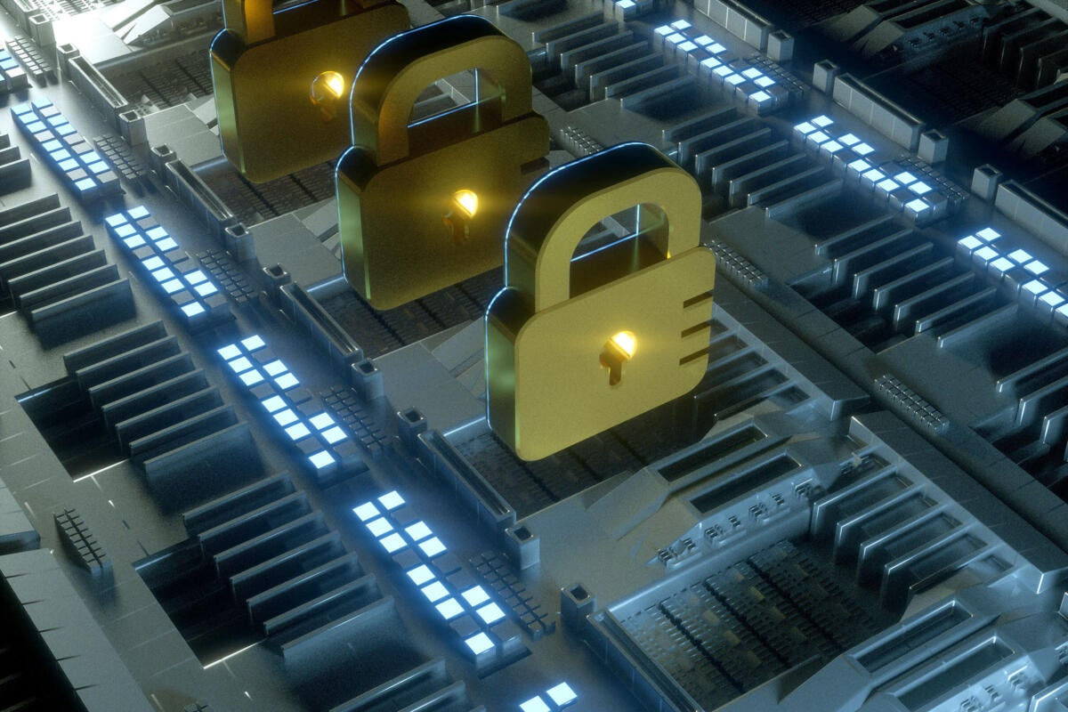 Security automation: locks on an assembly line.