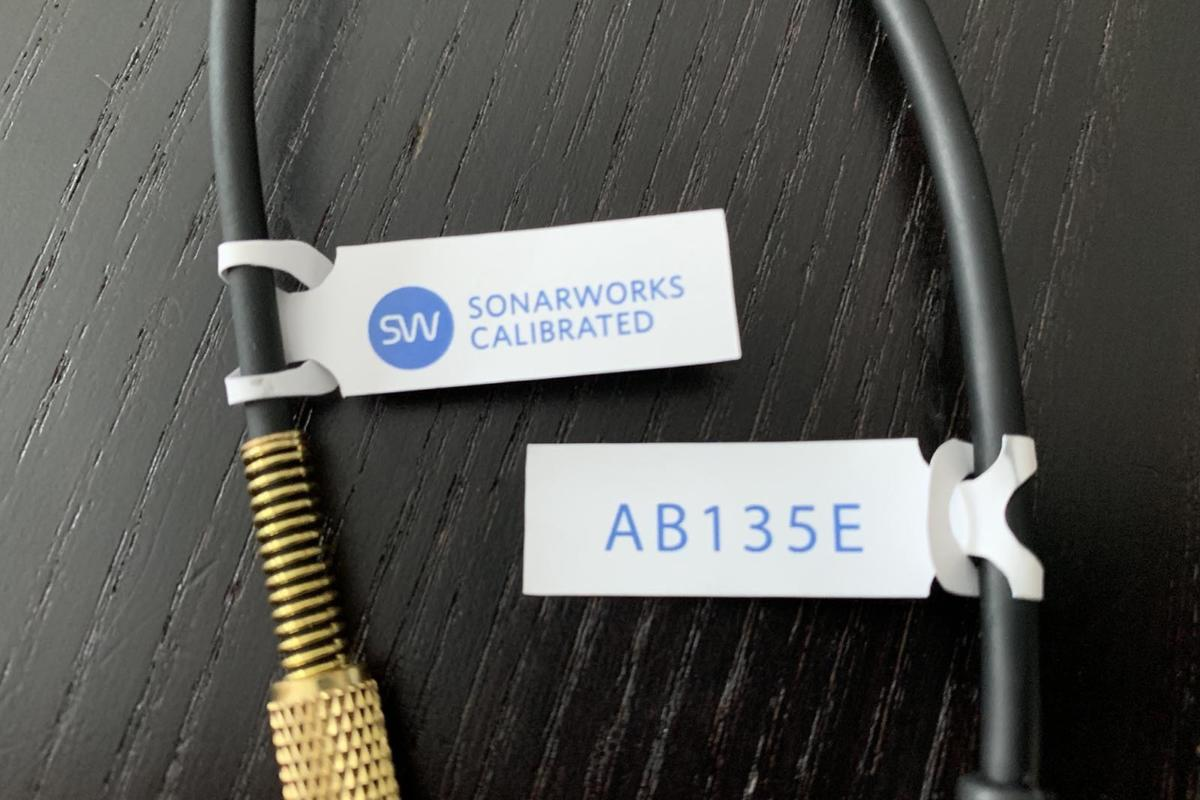 SonarWorks sent me two pairs of factory-calibrated headphones for testing.