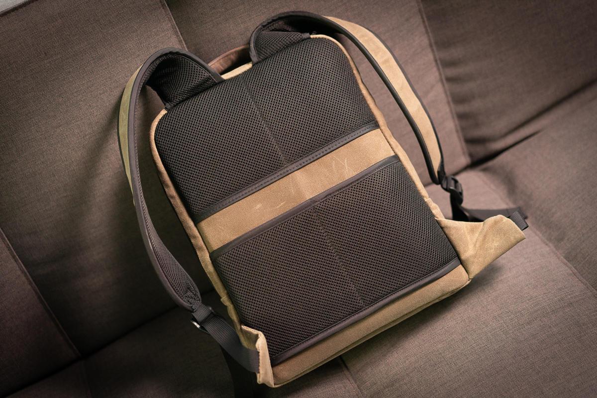 sutter slim backpack pockets