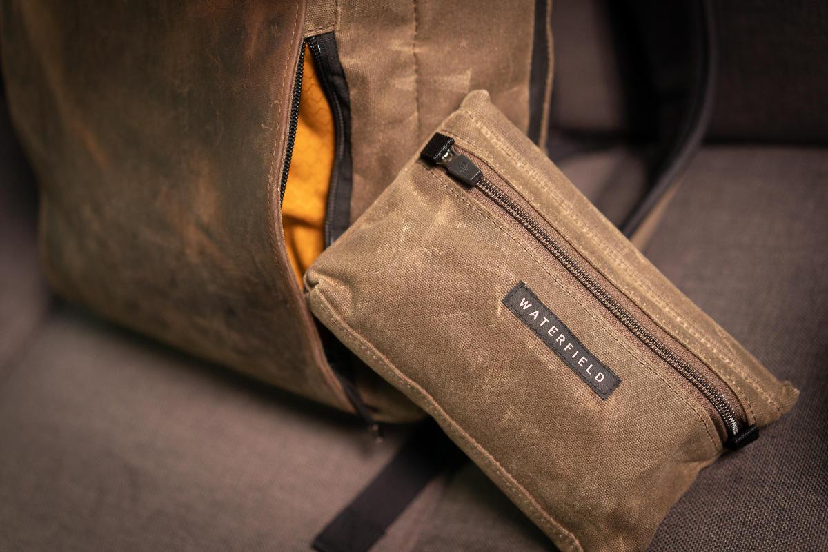 sutter slim backpack tech pocket