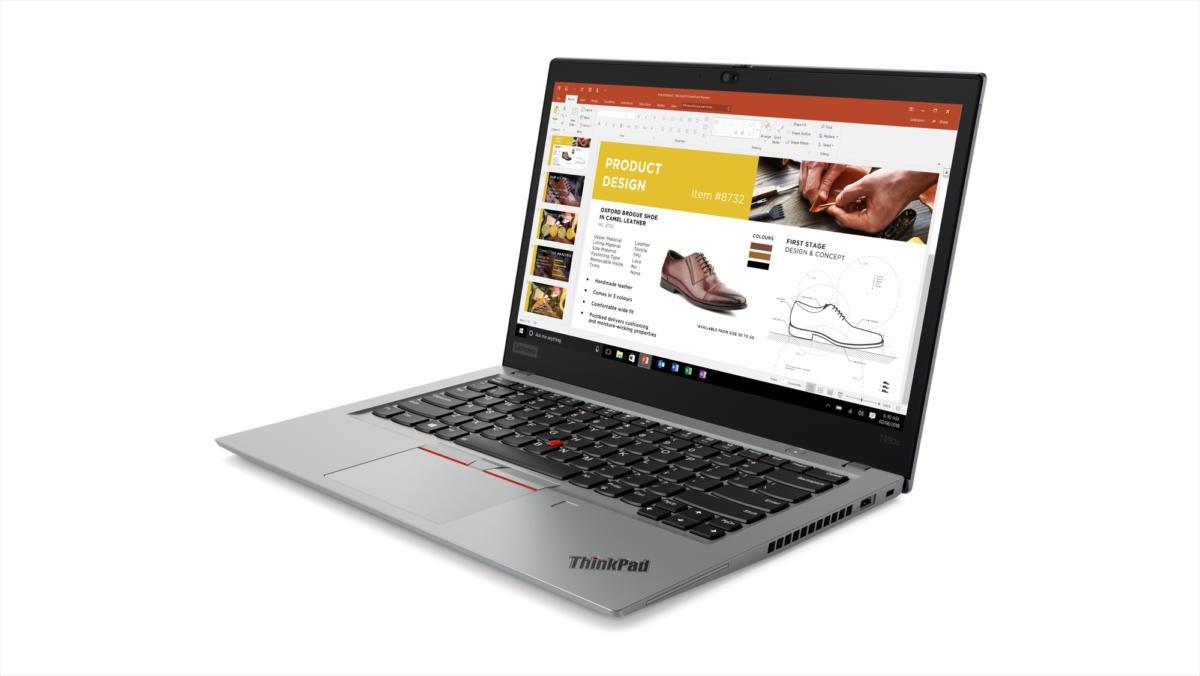 Lenovo's ThinkPad T490 emphasizes display improvements in 2019
