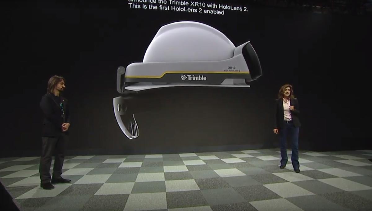 Microsoft HoloLens 2 trimble xr10