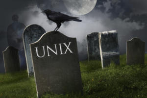 The long, slow death of commercial Unix
