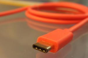 usb c cable orange