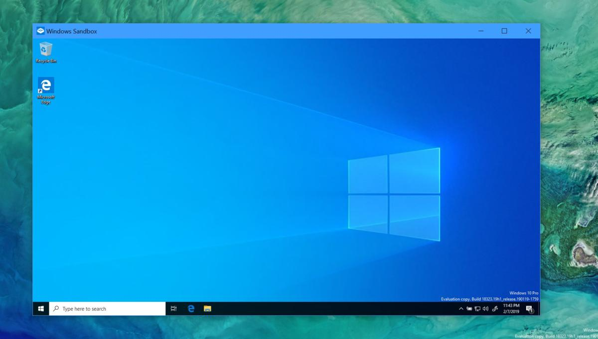 Windows 10 May 2019 Update review: Sandbox and a better