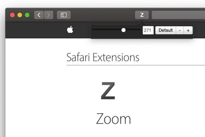 zoom sfari extension