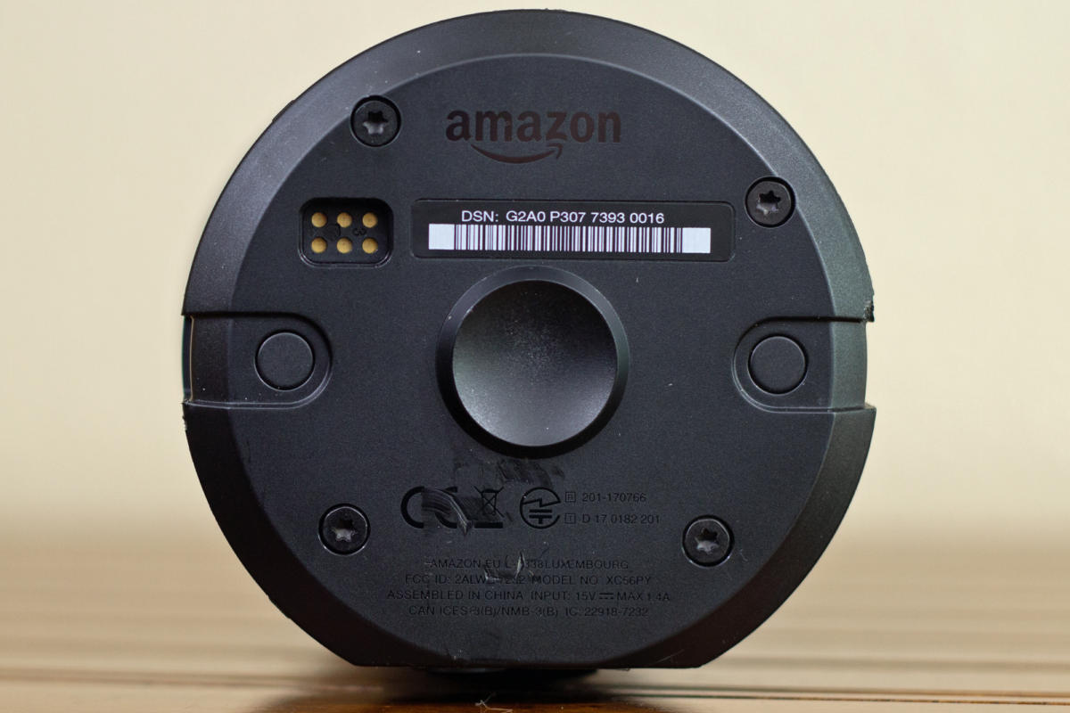 amazon echo 2 electrical contacts