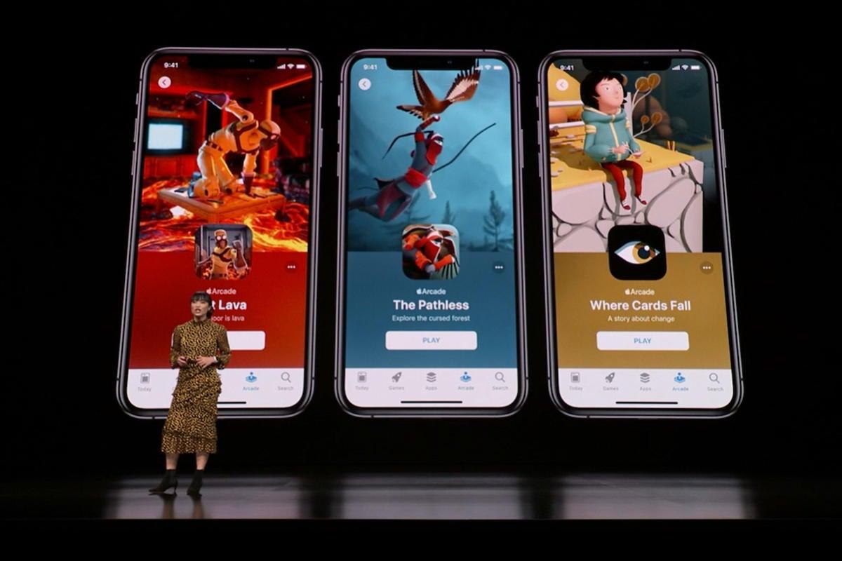 apple arcade multiple games