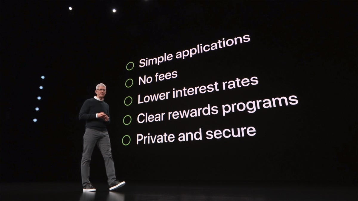 apple card summary