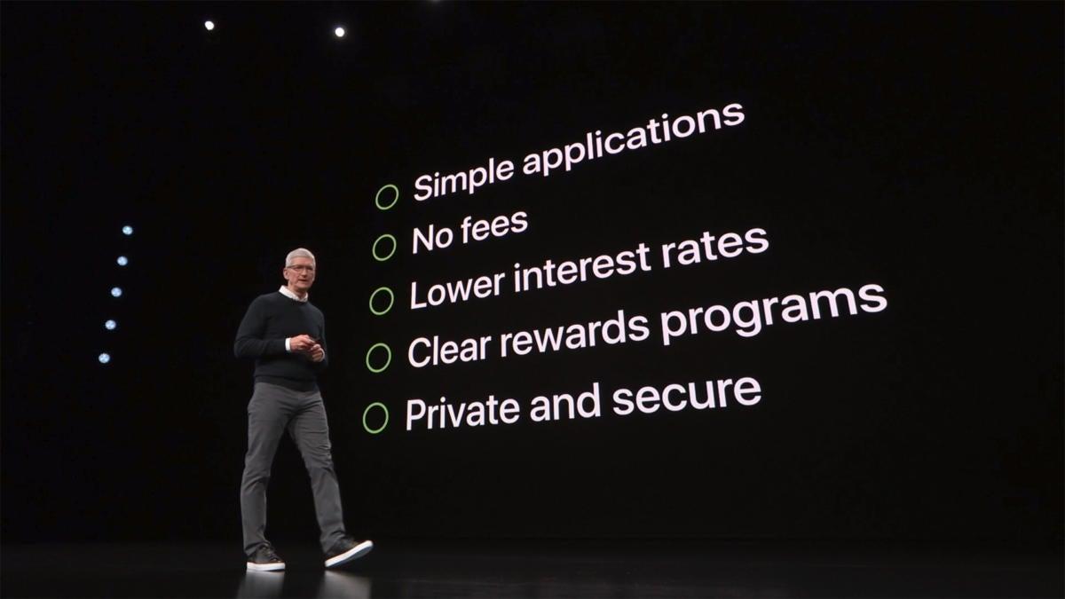 apple card summary