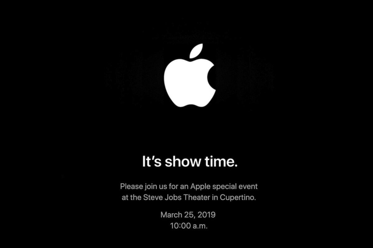 apple event invite 032519