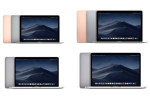 apple macbook lineup march2019