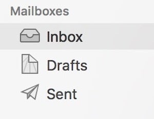 apple mail mac inbox