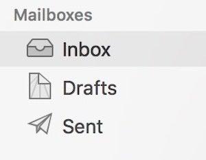 apple mail mac inbox