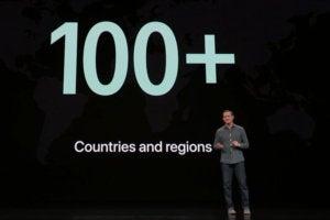 apple tv countries