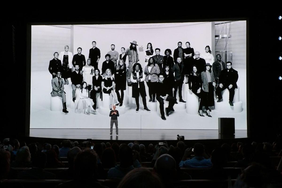 apple tv plus cast