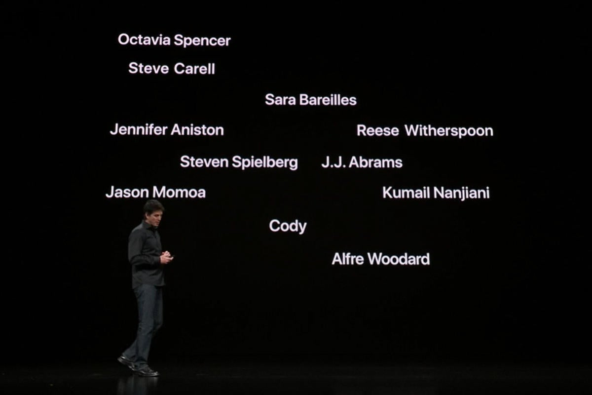 apple tv plus event stars