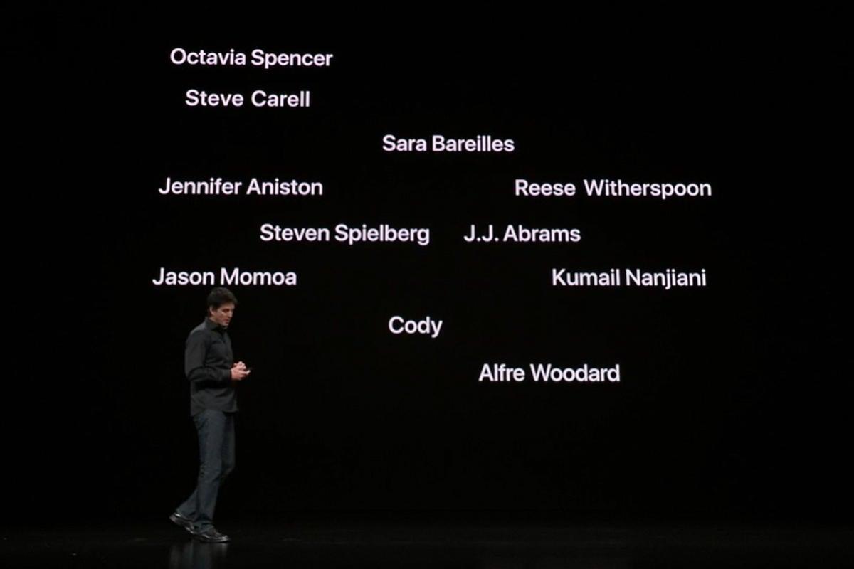 apple tv plus event stars