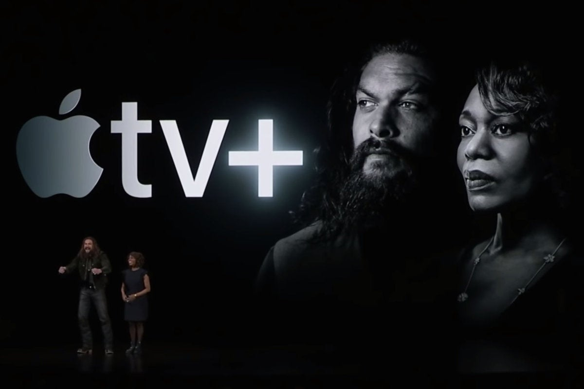 apple tv plus see