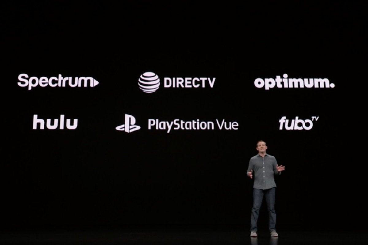apple tv services