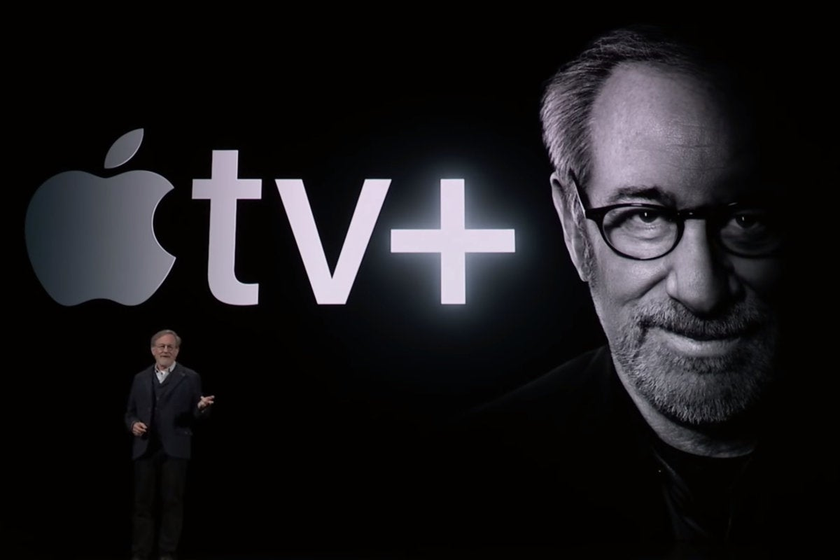 apple tv spielberg