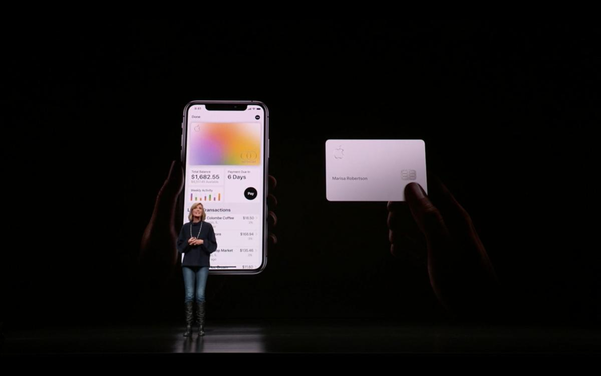 apple card app plus physical card
