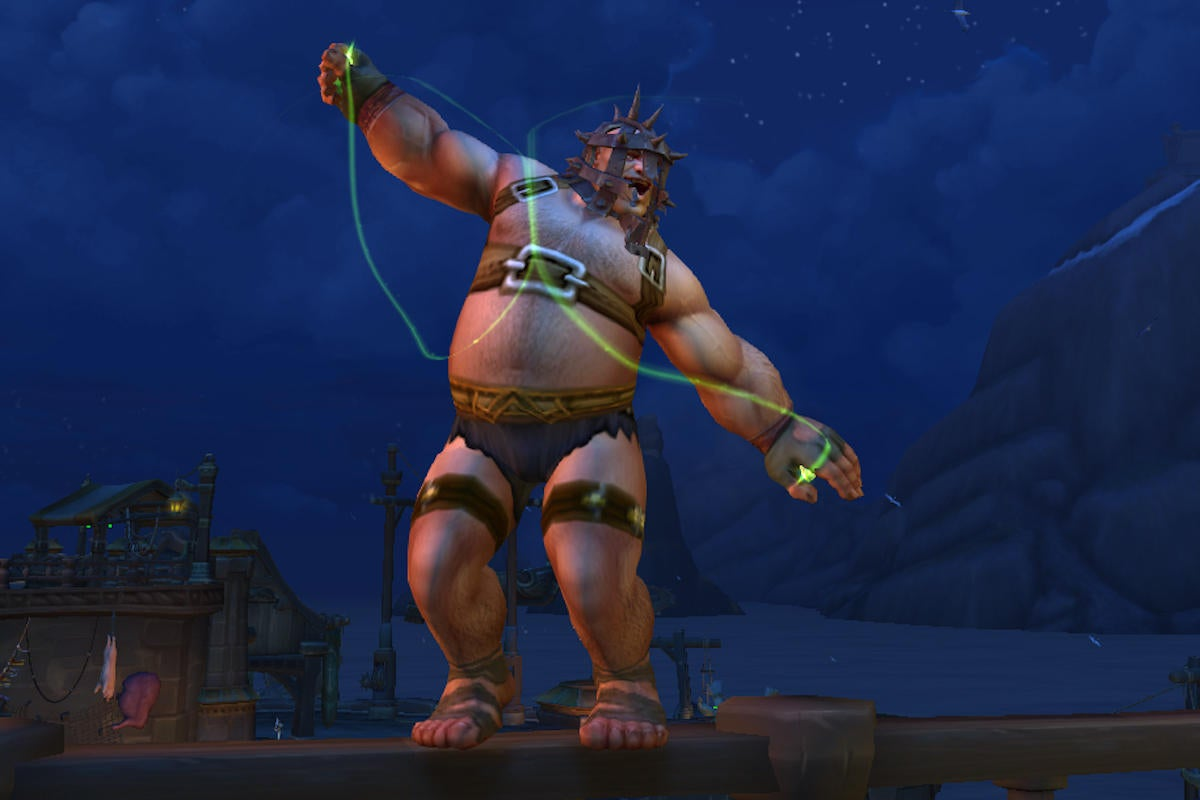 World of Warcraft now lets me play as a fat guy, and I love