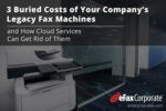 3 Buried Costs of Your Company's Legacy Fax Machines