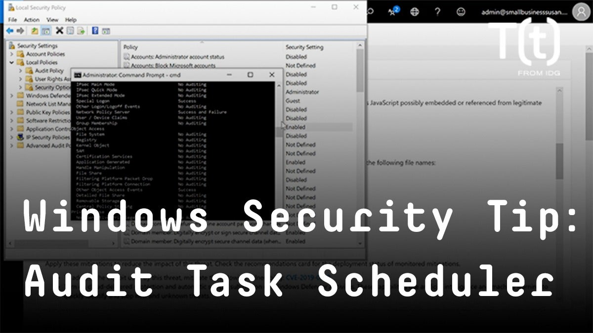 How to audit Windows Task Scheduler to detect attacks