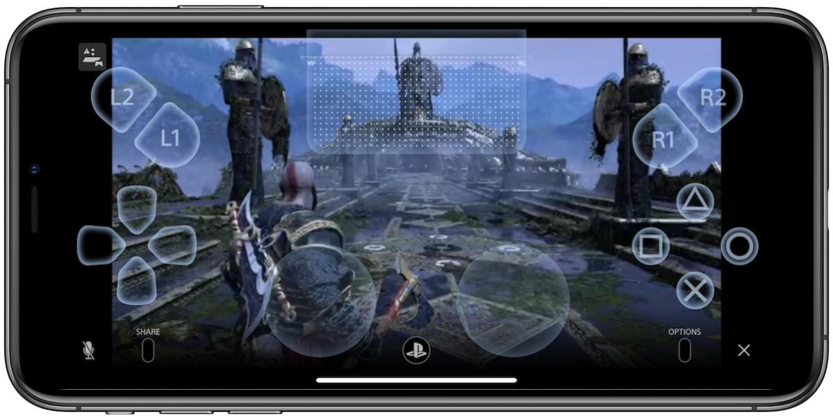god of war ps4 remote play