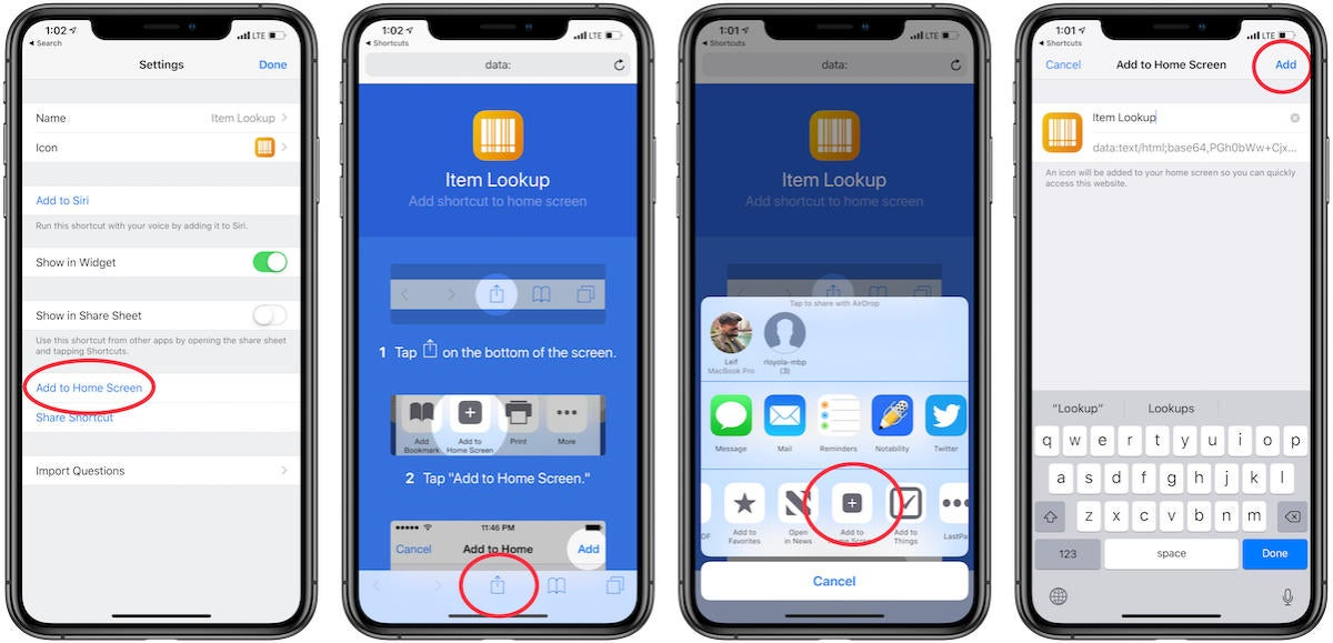 how to add shortcut 2