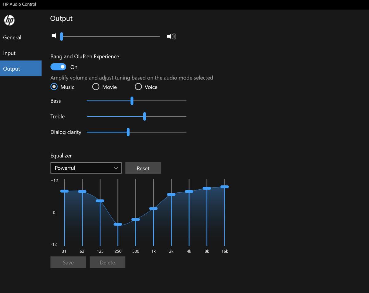 HP Spectre x360 15 2019 hp audio control