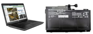 hp laptop and battery large