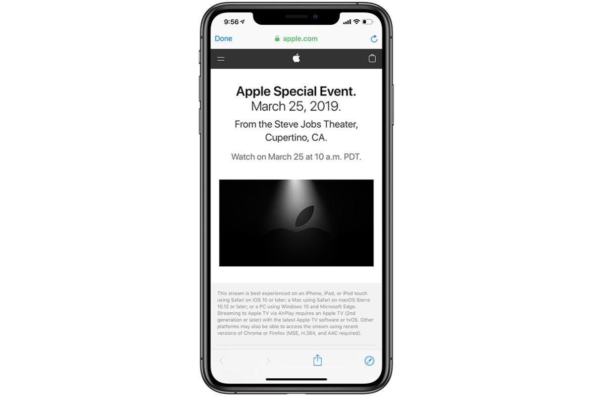 iphone livestream