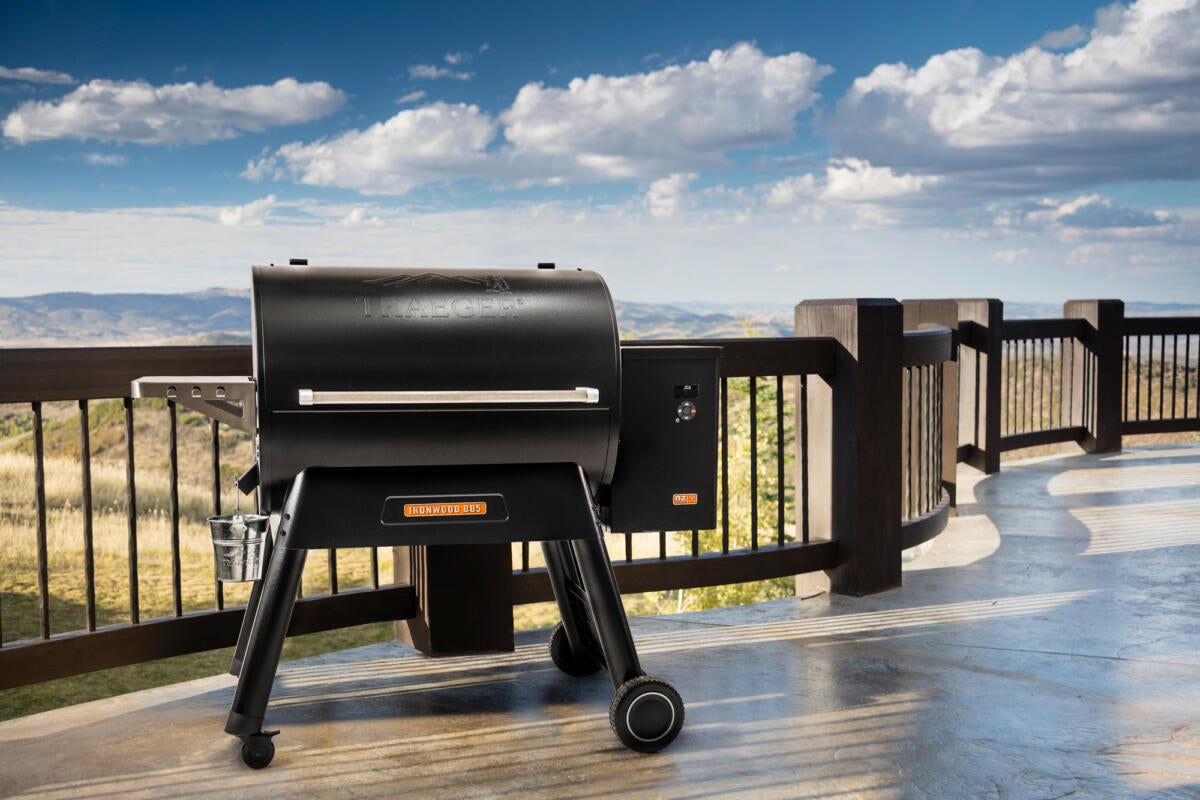 Traeger expands its line of Wi-Fi connected wood-fired grills for the smart home