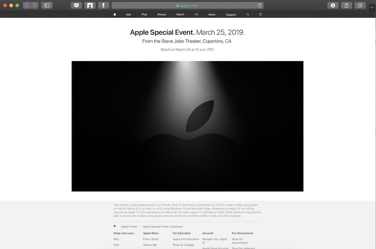 mac its show time