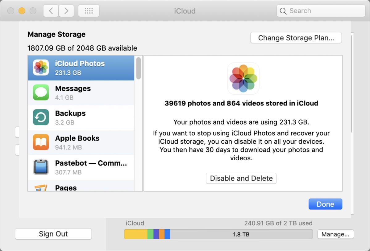 mac911 icloud system pane manage delete