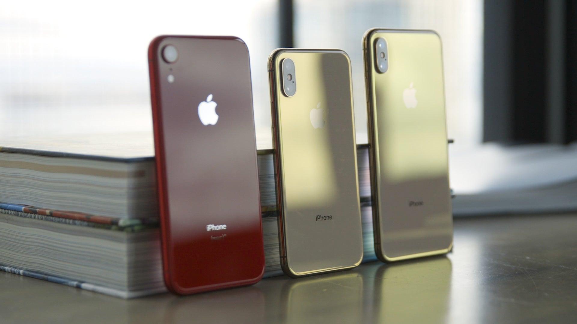 iPhone XR vs XS vs XS Max